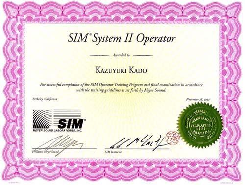 Meyer SIM Award